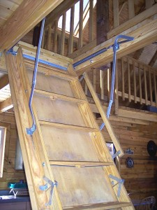 Make Your Own DIY Loft Attic Stairs Ladder Pull Down Attic Loft