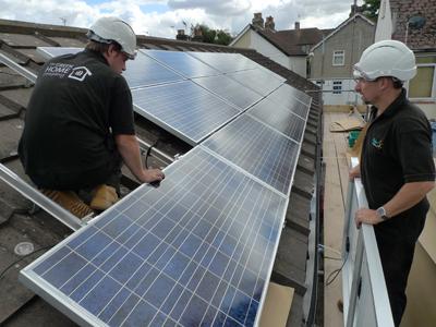 Solar PV fitting
