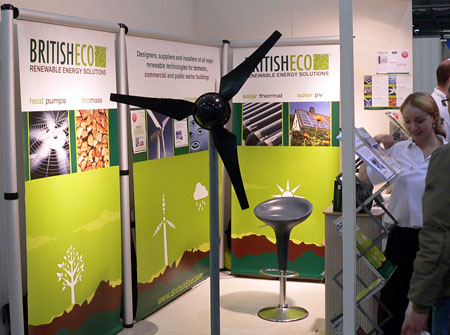 British Eco wind turbine