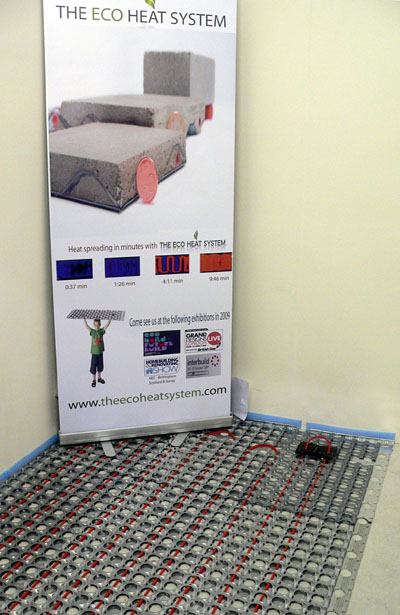 Grand Designs Eco Heat underfloor heating