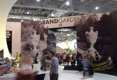 Gardens section at Grand Designs 2009