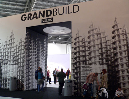 Build section at Grand Designs 2009