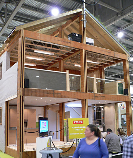 Eco Green build - timber framed building