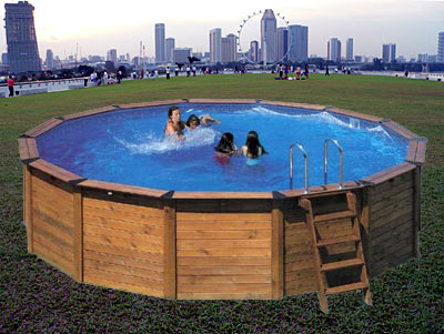 Swimming pools - above ground, hard sided and soft sided, garden ...