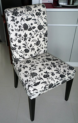 Lovely expensive chair and furniture - insure against loss and damage too