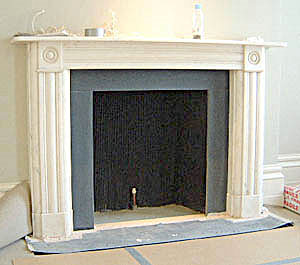 Traditional fireplace - fitting