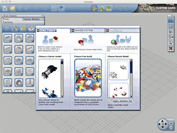 Lego digital designer 3d virtual building software for Lego digital designer templates