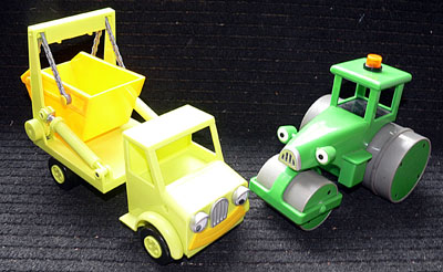 Bob the Builder - 2 vehicles - Skip and Roller