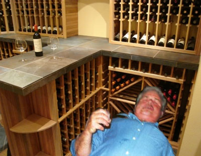 Wine cellar build design plans custom wine cellars for Building wine cellar