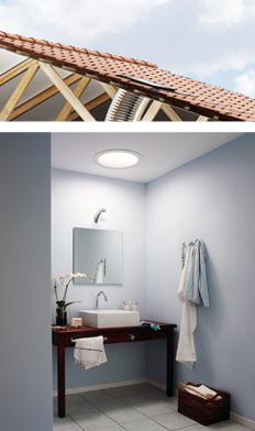 Solar Sun Light Tunnel Or Tube Sun Pipe At Building Diy